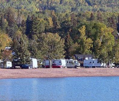 Grand Marais Campground Amp Marina Great Lakes Drive