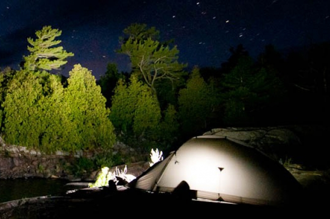 Thompson Beach Water Trail Campsite | Great Lakes Drive