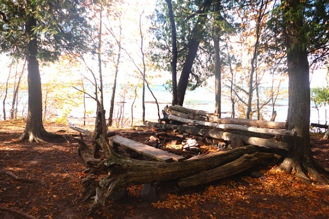 Porcupine Mountains Wilderness Campsites Great Lakes Drive